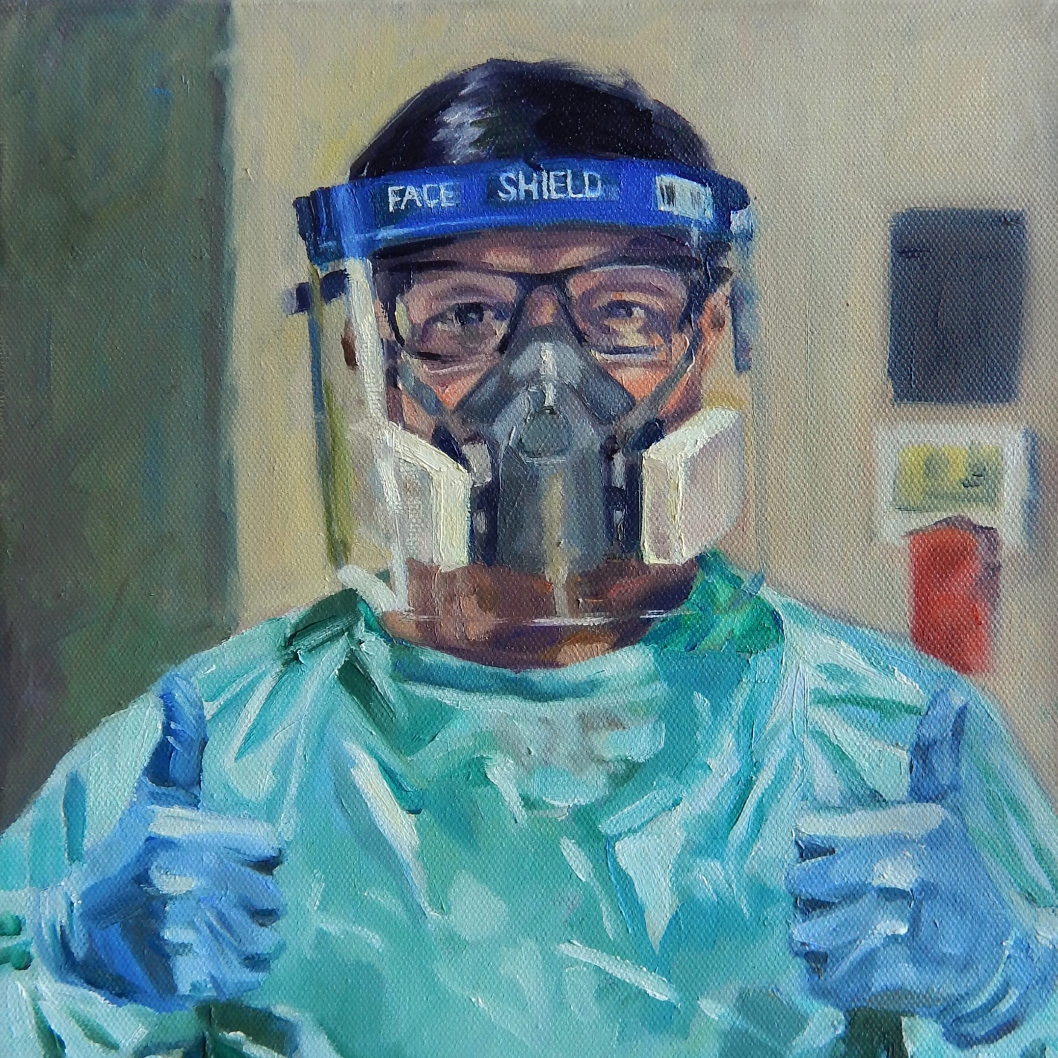 NHS-portrait-for-heroes-male-nurse-in-PPE