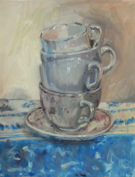 still-life-painting-stacked-teacups