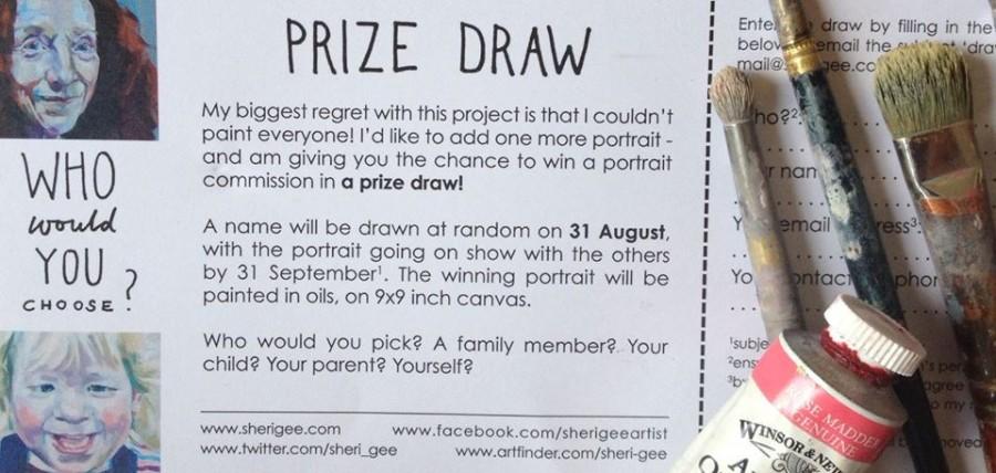 Prize Draw form