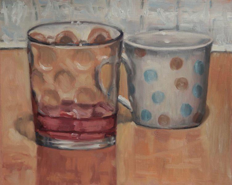 still-life-oil-painting-glass-and-mug