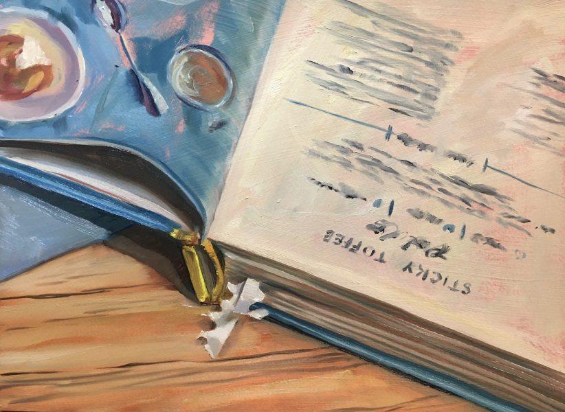 still-life-oil-painting-open-cookbook