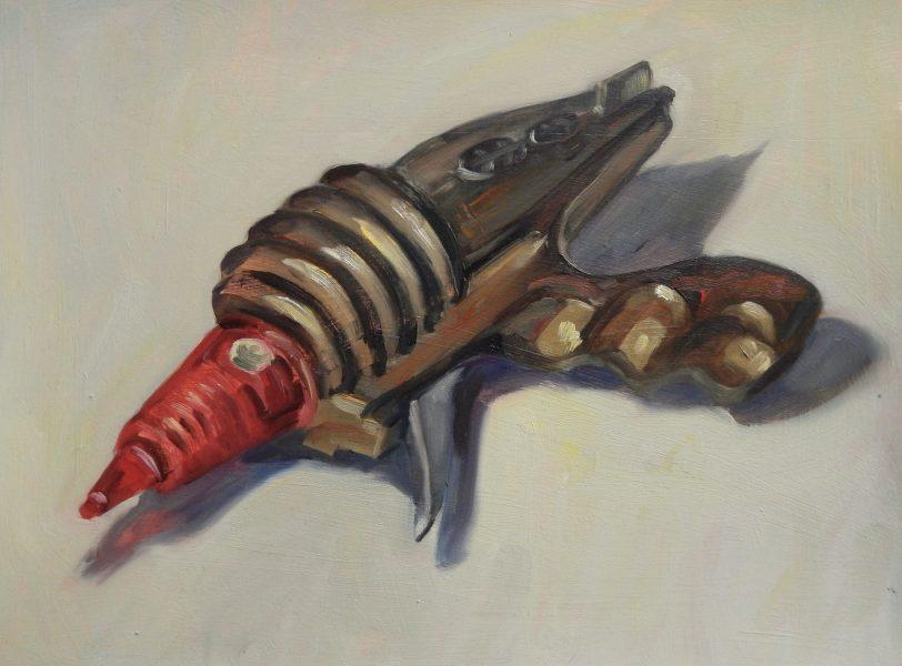 still-life-oil-painting-ray-gun